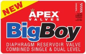 Big boy tank valve